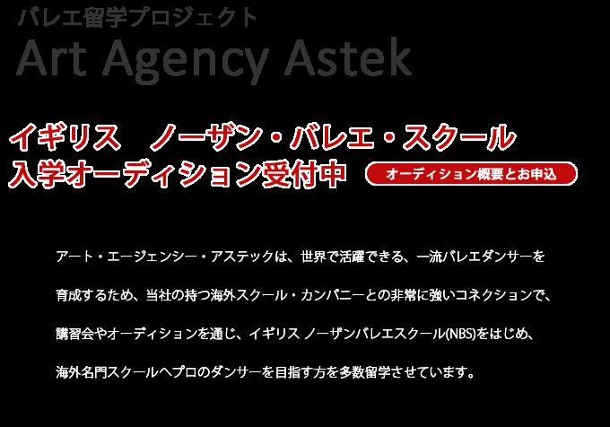 ASTEK(アステック) バレエ留学オ...